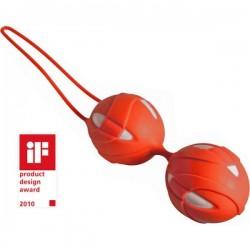 Kulki SMARTBALLS teneo duo FUN FACTORY, witaminowy-magenta